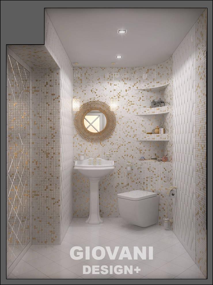 Дачный WC: Ванные комнаты в . Автор – Giovani Design Studio