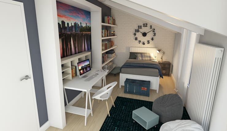 Habitaciones infantiles de estilo  de Davide Bicci 3d Graphic