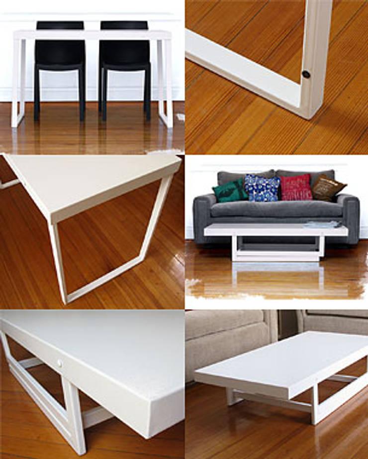 Medidas | Materiales | Colores: Comedores de estilo  por BIMESA,