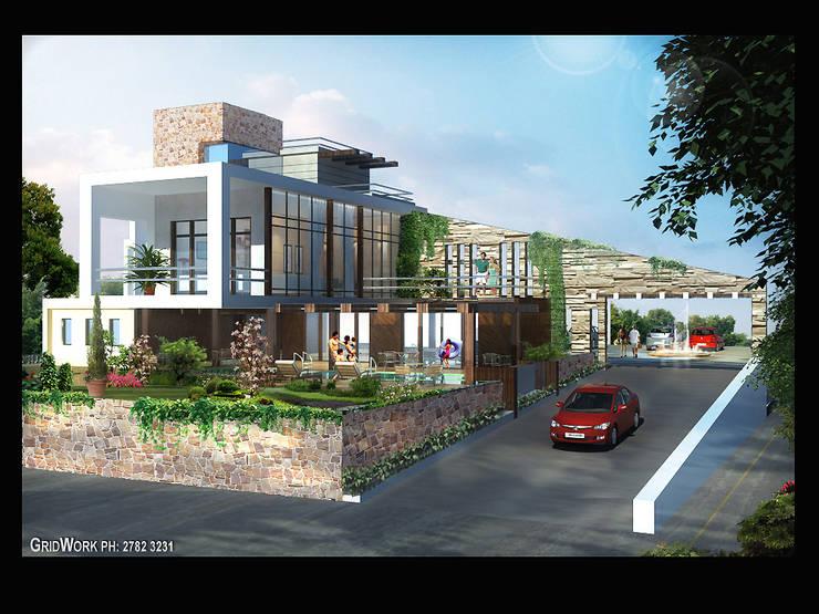 Private bungalow- khandala:   by AIS Designs