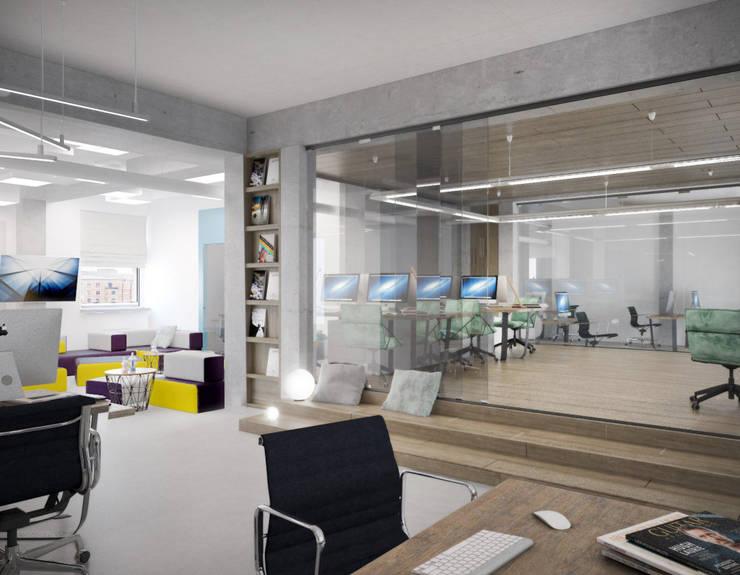 Oficinas de estilo minimalista de ONE STUDIO Minimalista