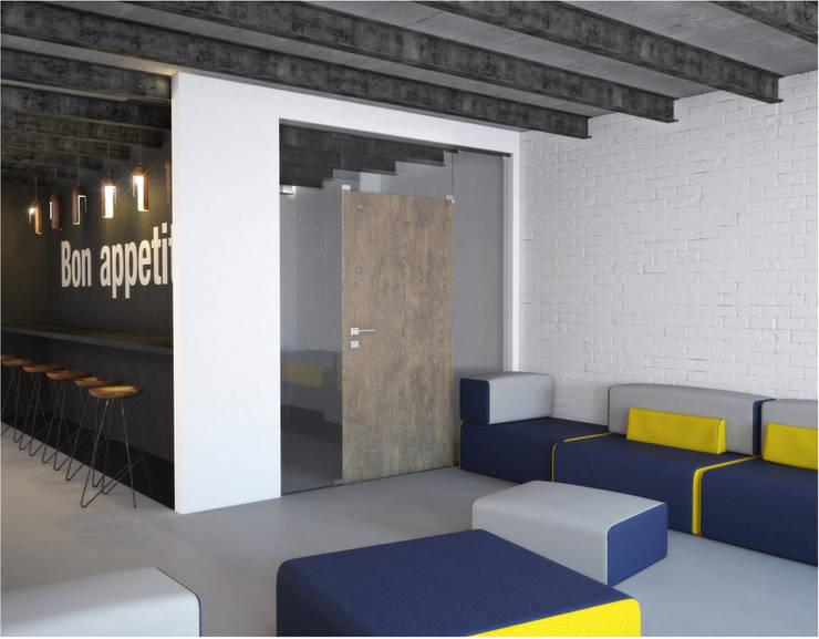 Salas de entretenimiento de estilo minimalista de ONE STUDIO Minimalista