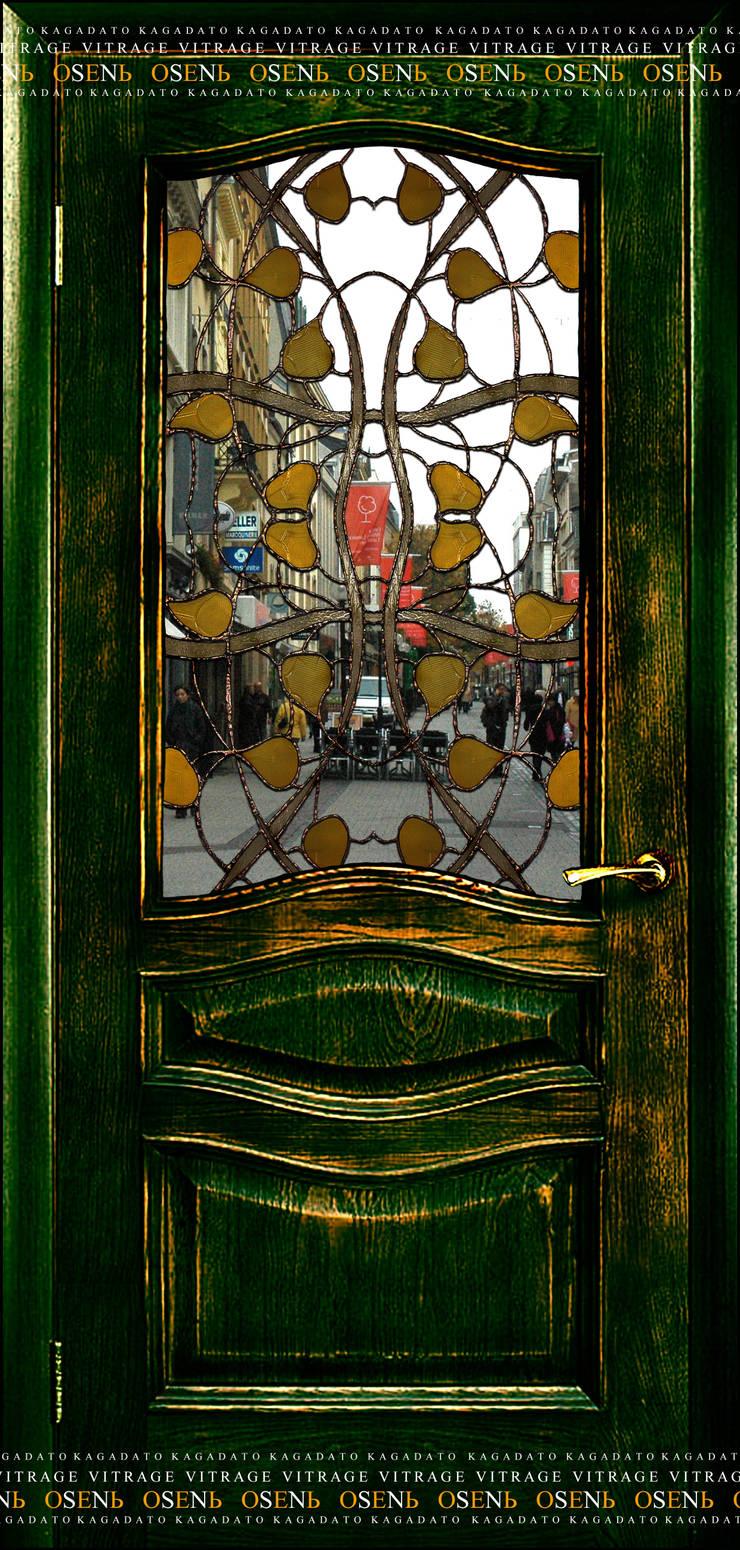 OSENЬ[crystal]: Окна и двери в . Автор – KAGADATO,