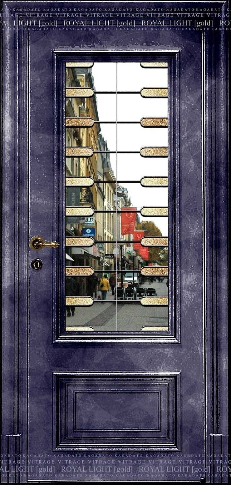 ROYAL LIGHT[gold]: Окна и двери в . Автор – KAGADATO,