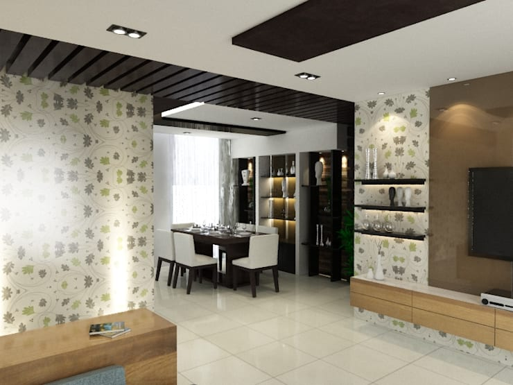 Dining room by Space Interface