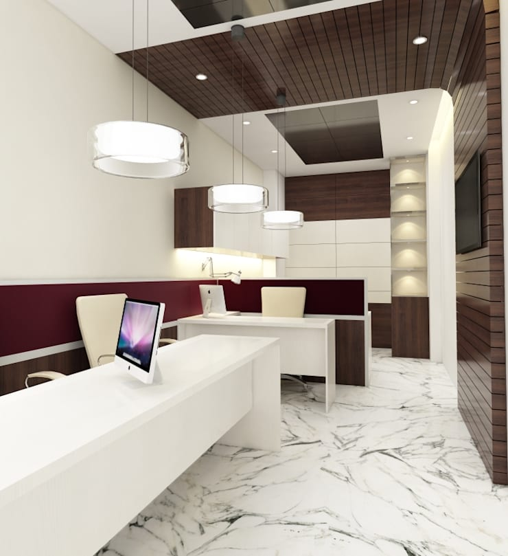 Nagory Office:  Commercial Spaces by Space Interface