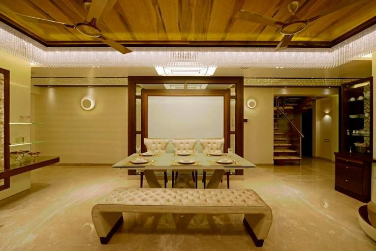 غرفة السفرة تنفيذ AIS Designs