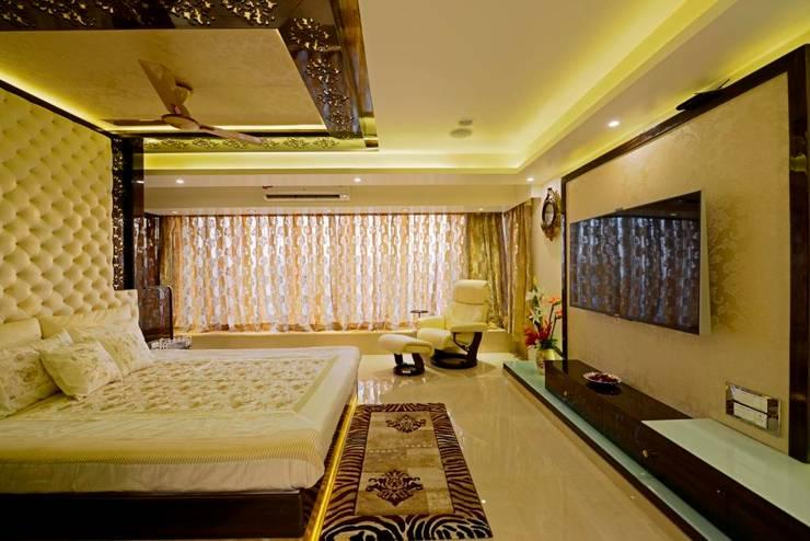 غرفة نوم تنفيذ AIS Designs