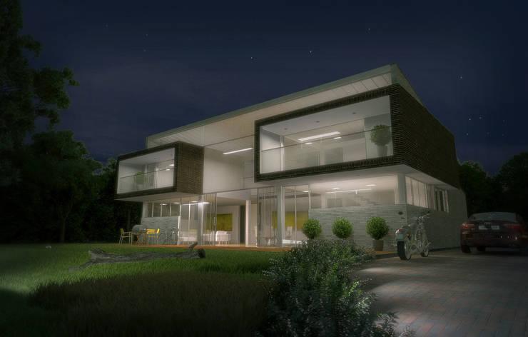 Rumah oleh Lápiz De Sueños, Modern