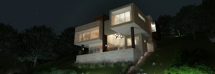 CASA VALLEJO: Terrazas de estilo  por Lápiz De Sueños