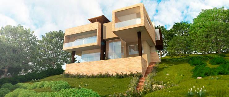 CASA VALLEJO: Casas de estilo  por Lápiz De Sueños