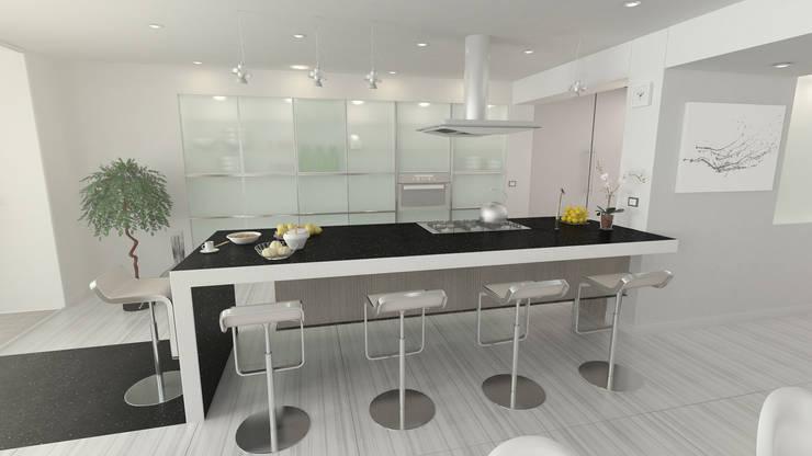 Terraza Peñas Blancas: Cocina de estilo  por Lápiz De Sueños