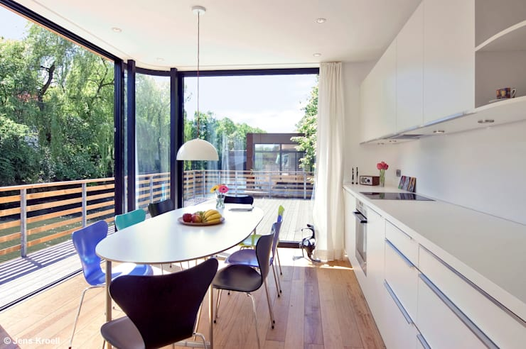 Kitchen by Rost.Niderehe Architekten I Ingenieure