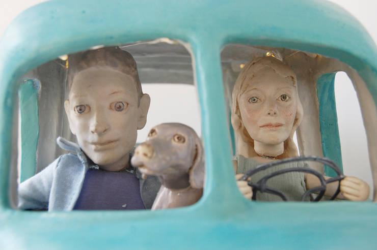 Bus:   door Marsha Metselaar, Landelijk Aardewerk