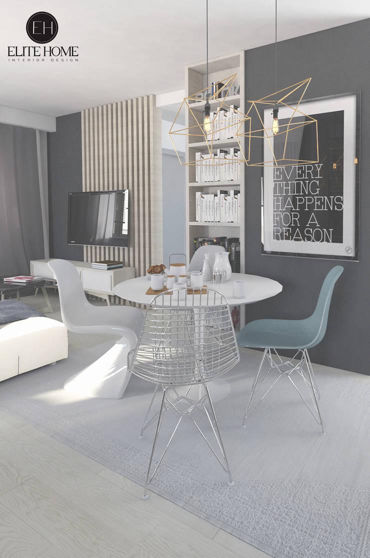 PROJEKT No 2: styl , w kategorii Jadalnia zaprojektowany przez ELITE HOME