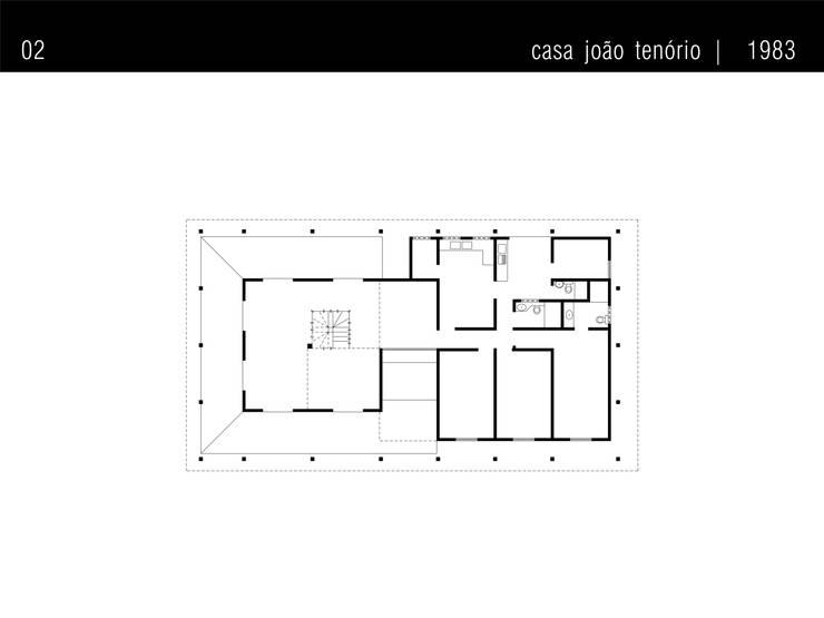 Стены в . Автор – Traço Planejamento e Arquitetura, Рустикальный