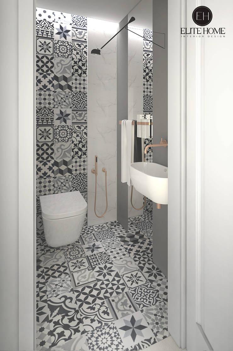PROJEKT No 2: styl , w kategorii Łazienka zaprojektowany przez ELITE HOME