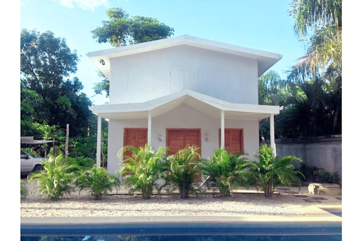 Beach cabin. Playa Avellanas, Costa Rica: styl , w kategorii Taras zaprojektowany przez 2kul INTERIOR DESIGN