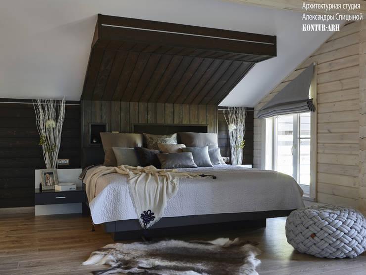 Спальня:  в . Автор – Архитектурная студия Александры Спицыной