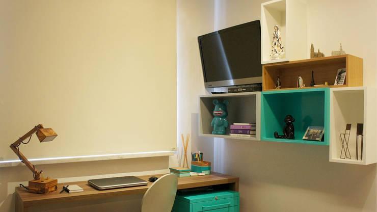 Projekty,  Domowe biuro i gabinet zaprojektowane przez fpr Studio