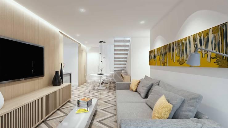 Salas de estilo  por fpr Studio