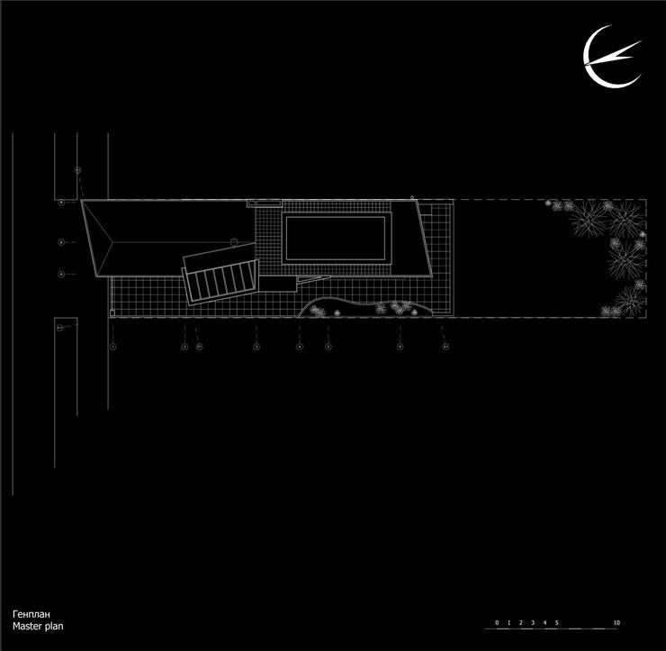 Генеральный план:  в . Автор – CHM architect