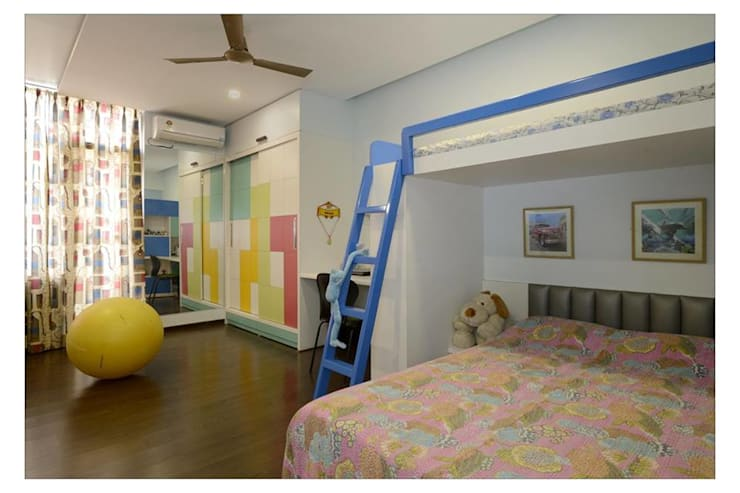 Jaiswal, Pune:  Nursery/kid's room by CK Interiors Pvt Ltd