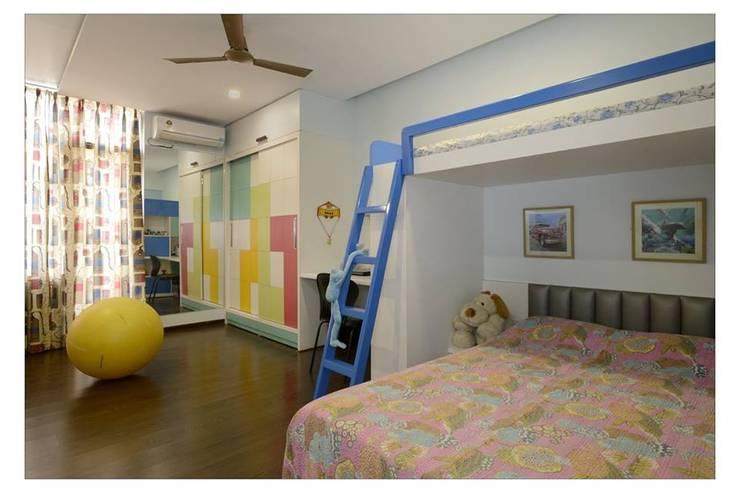 Jaiswal, Pune: modern Nursery/kid's room by CK Interiors Pvt Ltd