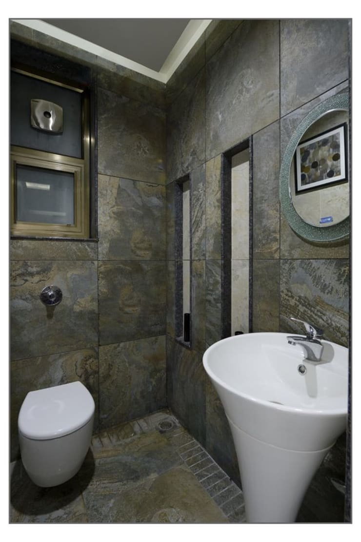 Bungalow project:  Bathroom by CK Interiors Pvt Ltd