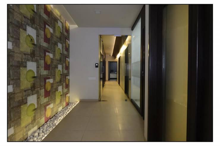 Pune Site:  Study/office by CK Interiors Pvt Ltd