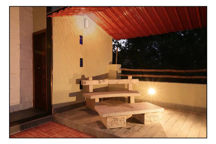Konnur site:  Terrace by CK Interiors Pvt Ltd