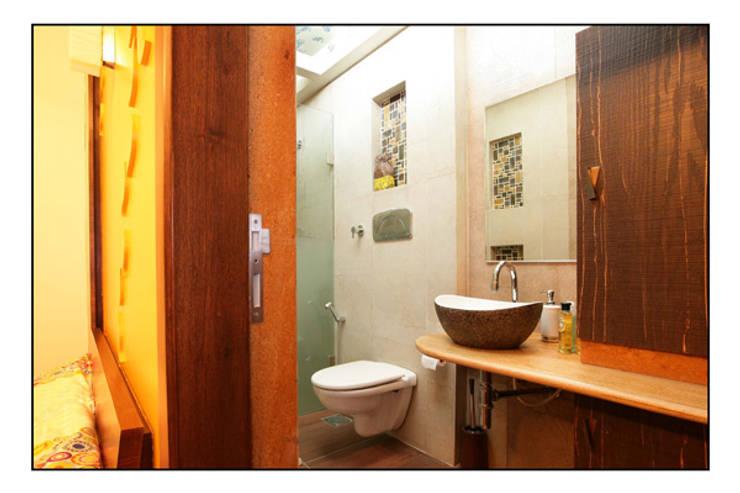 Konnur site:  Bathroom by CK Interiors Pvt Ltd
