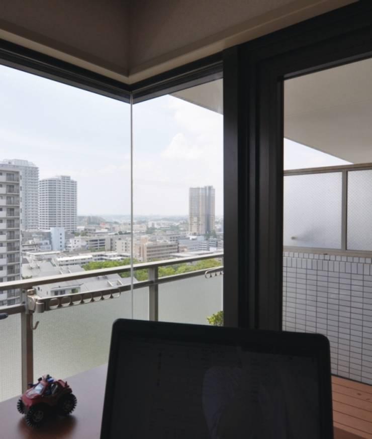 眺め: 株式会社エキップが手掛けた窓です。