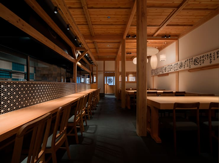 MENYATAI GABA kamiyatyo: Pilot  Planning  Inc.が手掛けたレストランです。,和風