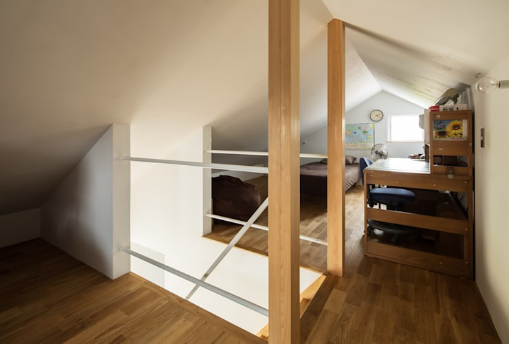 modern Nursery/kid's room by 藤森大作建築設計事務所