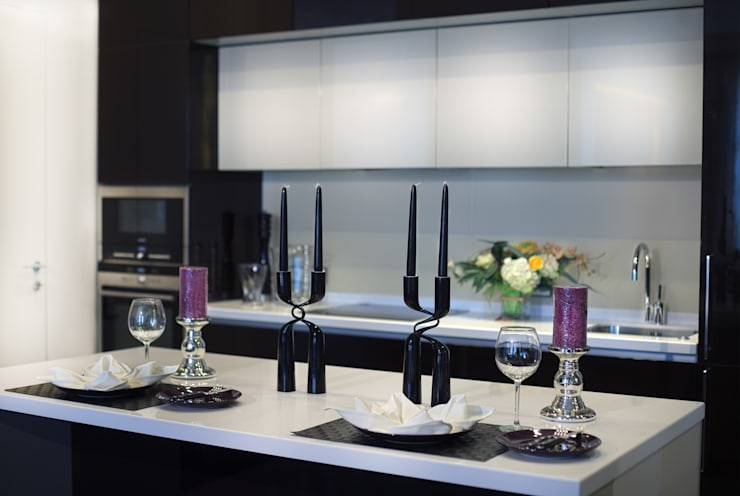 Квартира на Староильинской: Кухни в . Автор – Дизайн-студия «ARTof3L»