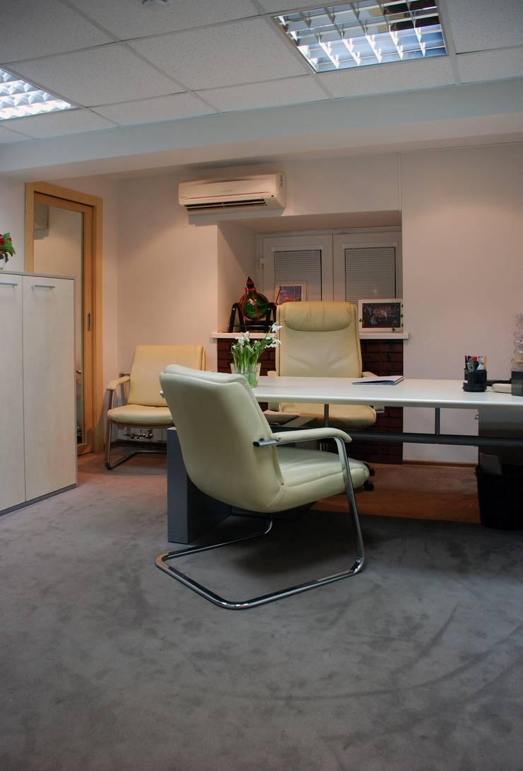 Офис на Зоологической: Офисные помещения в . Автор – Дизайн-студия «ARTof3L»