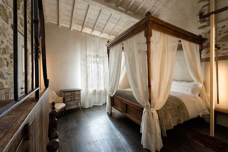 10 irresistibili camere da letto in legno