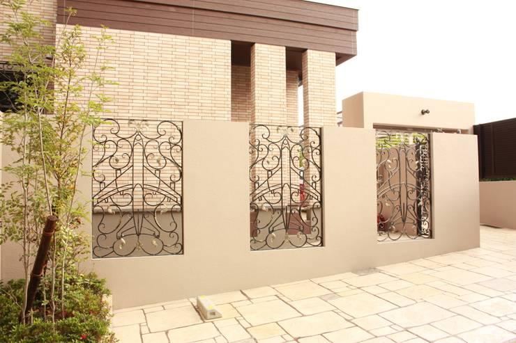 エクステリアフェンス: 株式会社ディオが手掛けた庭です。
