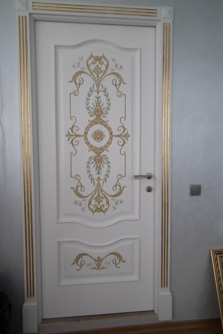 Декорирование росписью интерьера в классическом стиле:  в . Автор – ООО 'Бастет'