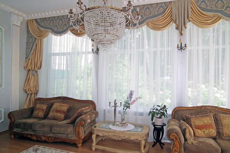 Декорирование росписью интерьера в классическом стиле:  в . Автор – ООО 'Бастет',