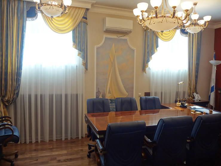 Декорирование интерьера кабинета руководителя:  в . Автор – ООО 'Бастет'