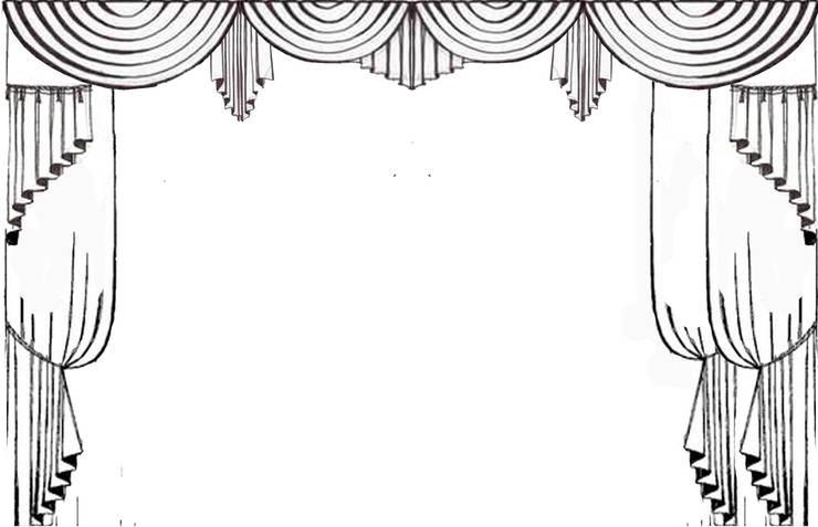 Декорирование окон в загородном доме:  в . Автор – ООО 'Бастет'