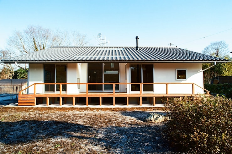 透き抜ける家: 麻生建築設計工房が手掛けた家です。,