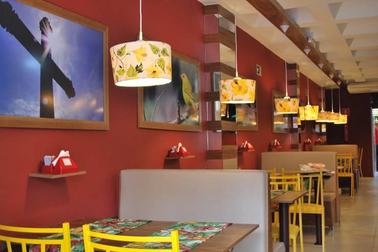 Spetu Steak House: Espaços gastronômicos  por Anelisy Lima Arquitetura e Design,Rústico