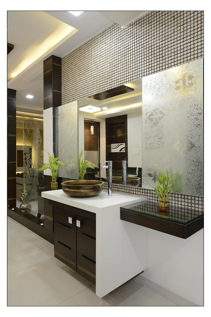 interiors:  Living room by Spacemekk Designers p.LTD