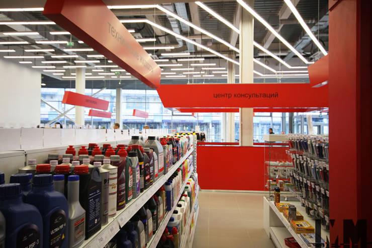 """автогипермаркет """"Автовсячина"""": Офисы и магазины в . Автор – ММ-design"""