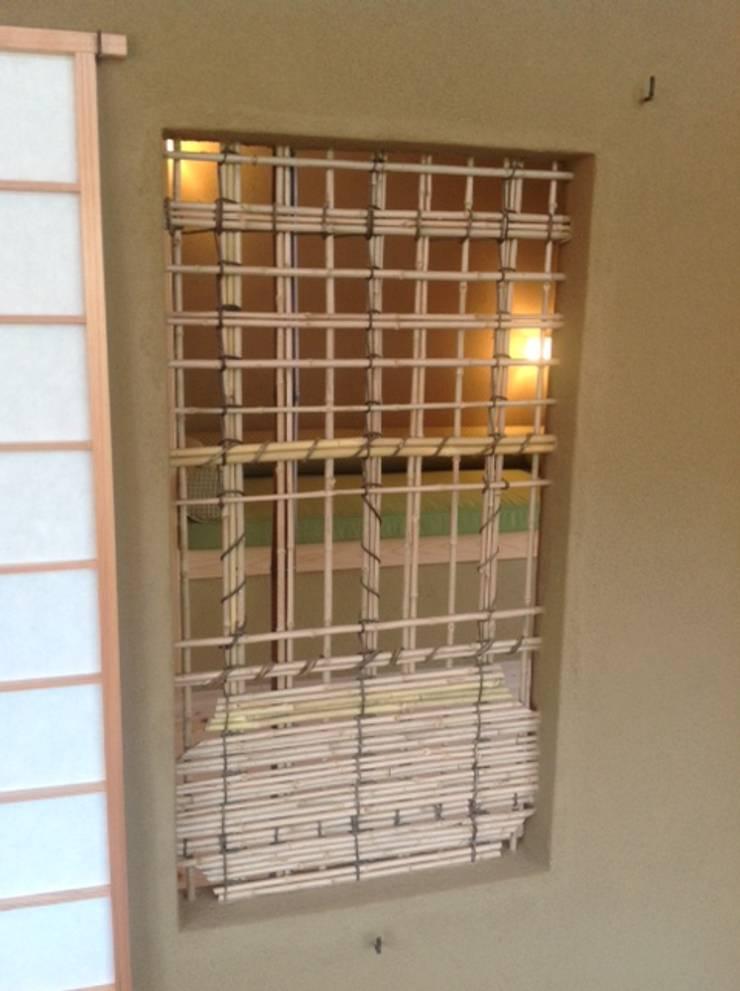 五条の森の町家 : シィエル・ルージュ・クレアシオン(CRC)が手掛けた窓です。