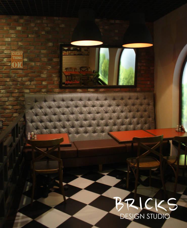 Bistro One: Ресторации в . Автор – Bricks Design