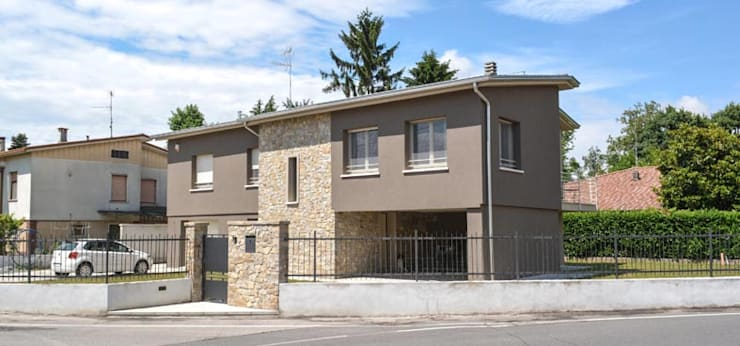 nova House: Case in stile in stile Moderno di NCe Architetto